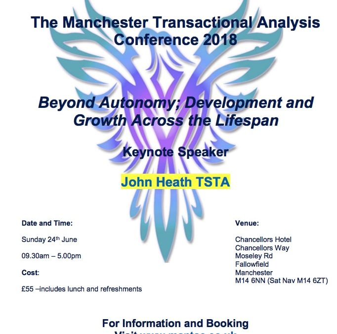 Manchester Transactional Analysis Conference 2018